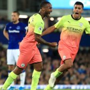 Manchester City need late goals to see off Everton