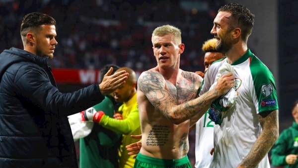 McClean warns Switzerland against writing off Ireland