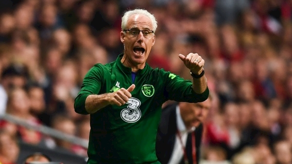 Four players withdraw from Ireland squad for Euro 2020 qualifier; Three replacements called up