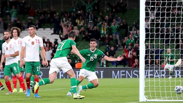 Josh Cullen stars as Ireland beat Bulgaria