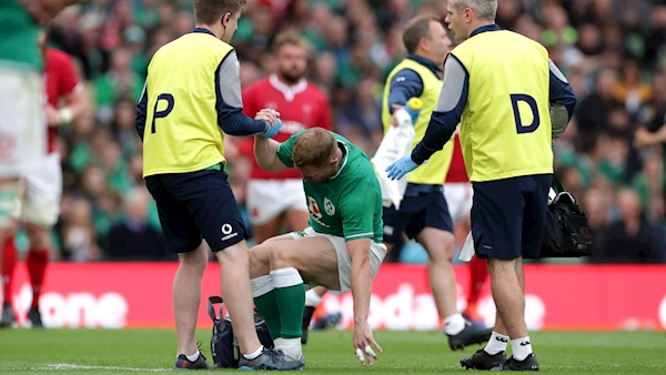 Keith Earls declared fit as Ireland squad prepares to travel to Japan