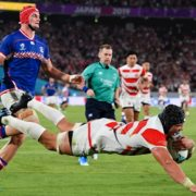 Russia open scoring in Rugby World Cup but Japan have the last laugh