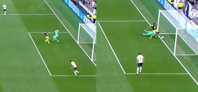 WATCH: Lloris Completely Messes Up A Bit Of Skill And Concedes. What Was He Thinking?!