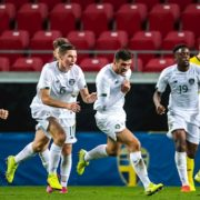 See the goals that put Ireland's U21s top of their European qualifying group