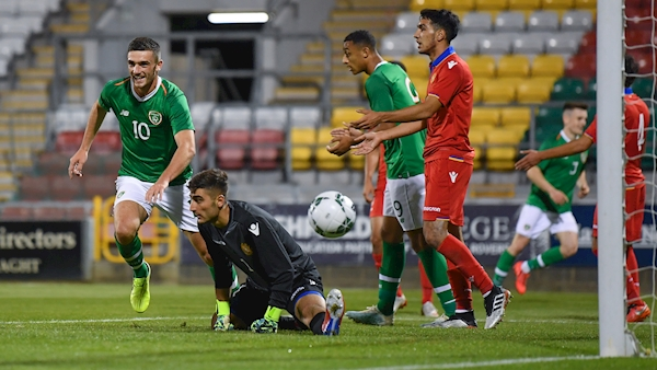 Stephen Kenny confident Troy Parrott can make impact for Ireland Under-21s
