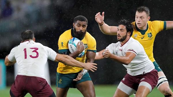 Australia toil to victory against Georgia