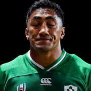Bundee Aki's World Cup is over  after receiving three-week ban