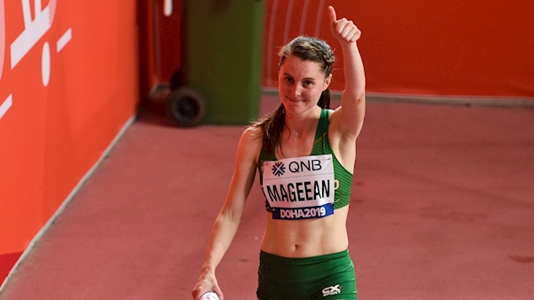 'For a wee girl from Portaferry, that's not too bad': Ciara Mageean celebrates jump into world's top 10