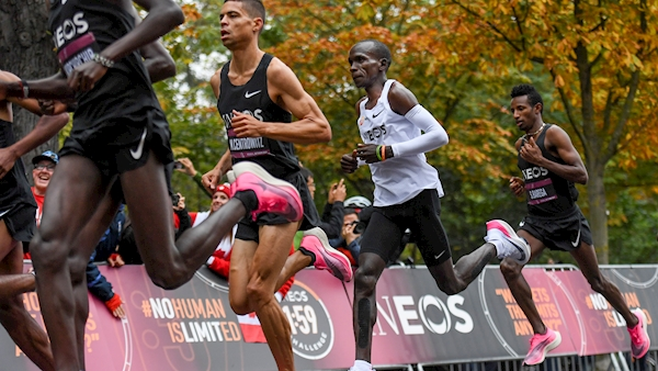 Eliud Kipchoge makes history in Vienna with sub-two-hour marathon
