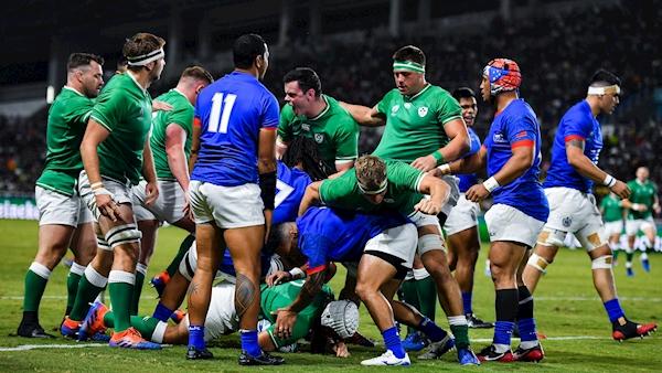Ireland book place in quarter-finals but suffer Aki blow