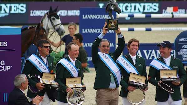 Ministers congratulate Ireland's show jumpers on qualifying for Olympics