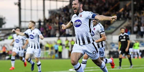 Patrick Hoban targets 100 goals as he signs deal to stay at Dundalk until 2021