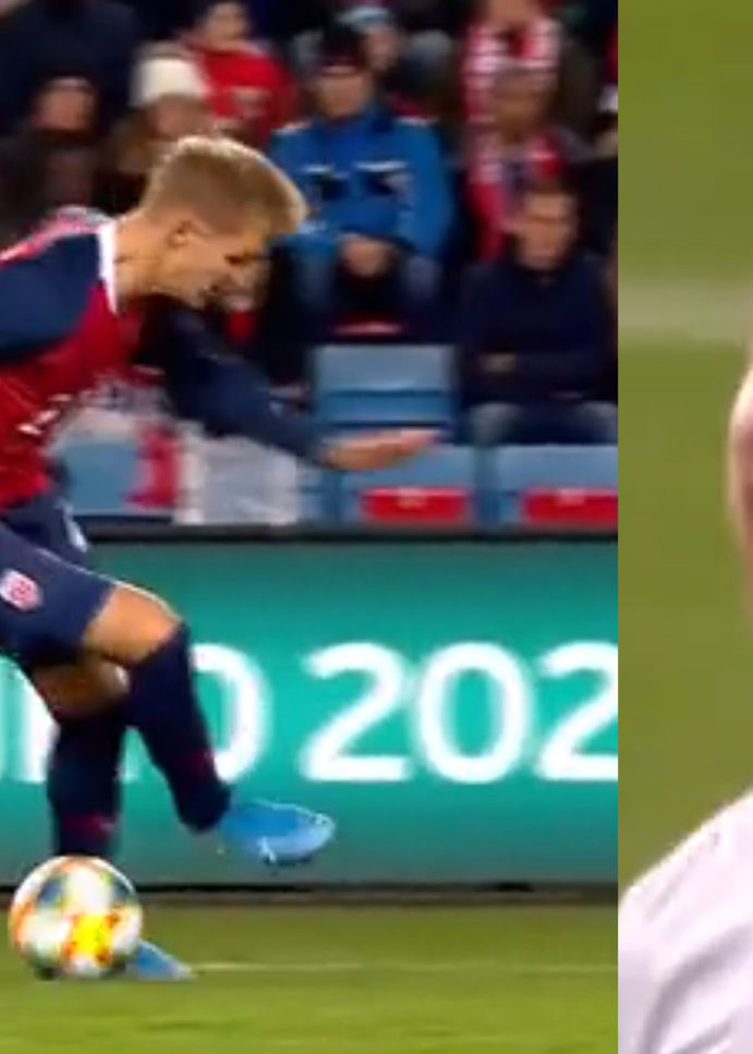 WATCH: Ramos Laughs After Getting Nutmegged By Martin Ødegaard