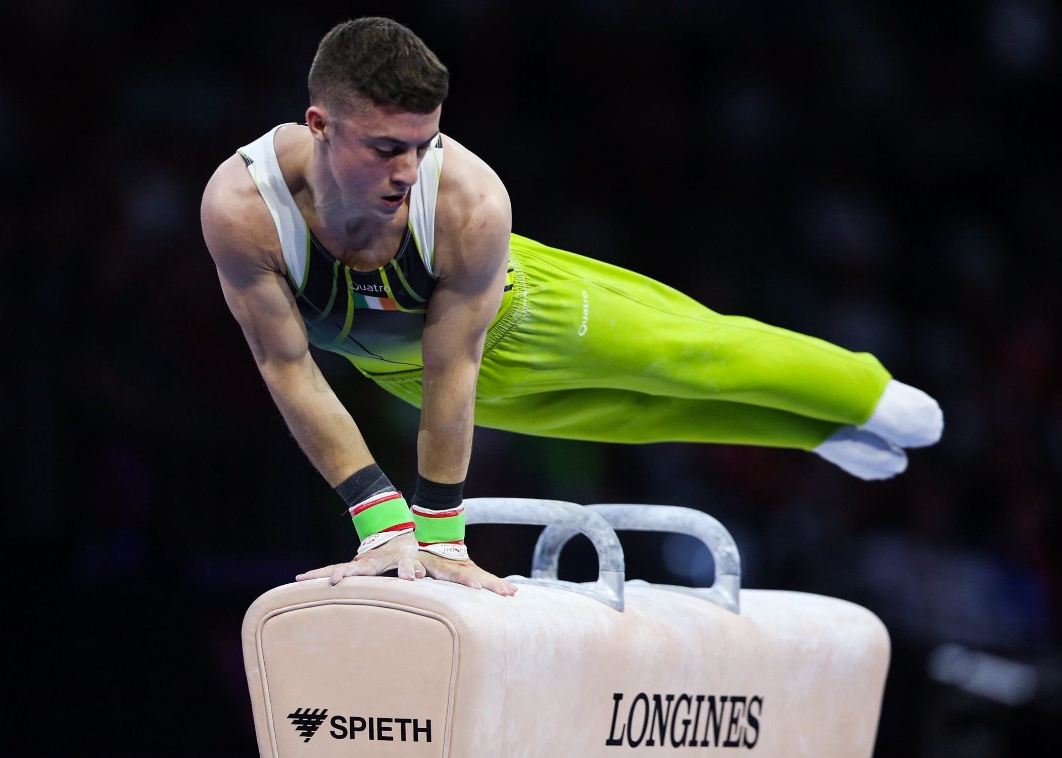 Rhys McClenaghan wins bronze at World Championships