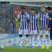 WATCH: Lionel Messi scores his 50th career free-kick