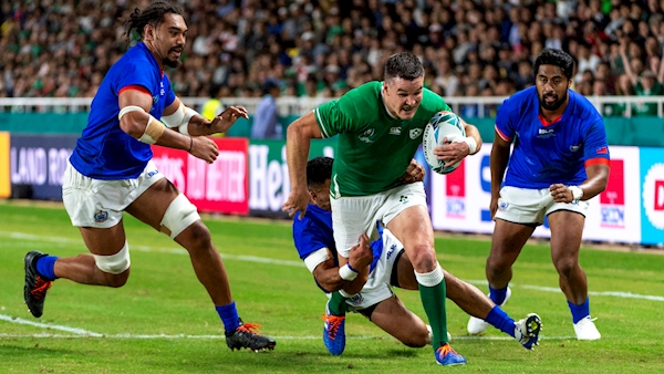Red for Aki but Ireland approach quarters in better health than 2015