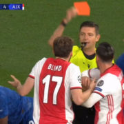 WATCH: Chelsea Come Back From 4-1 Down After Ajax Have 2 Centre Backs Sent Off In 1 Play