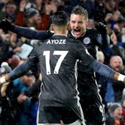 Vardy and Leicester's hot streak continues with win at Brighton