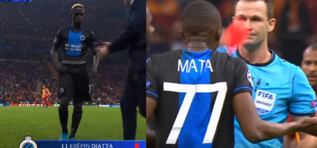 WATCH: Club Brugge Score Injury Time Winner And Have 2 Players Sent Off For Celebrating 'Too Much'