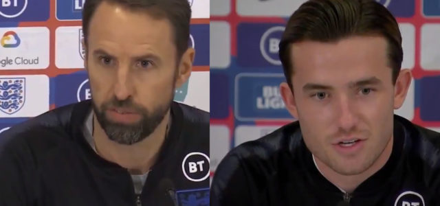 WATCH: Southgate And Chilwell Talk About Sterling Gomez Incident During Press Conference