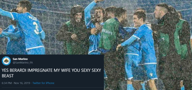 WATCH: San Marino Twitter Account Adds Celine Dion Music To First Home Goal Scored In 6 Years