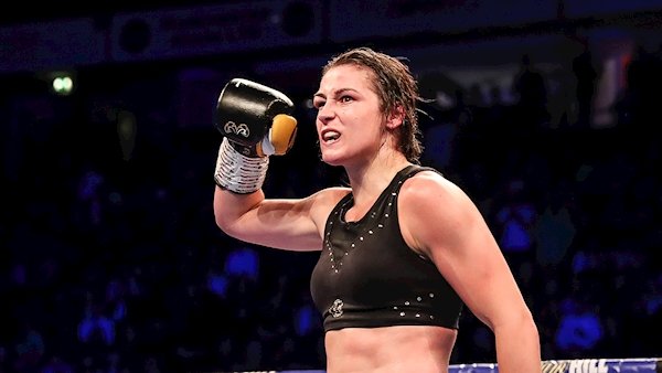Katie Taylor makes sporting history to become two weight world champion