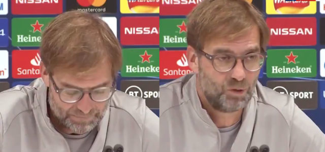 "WATCH: ""Sadio Mane Is Not A Diver, I'm Not In The Mood To Talk About Man City"" – Jurgen Klopp"