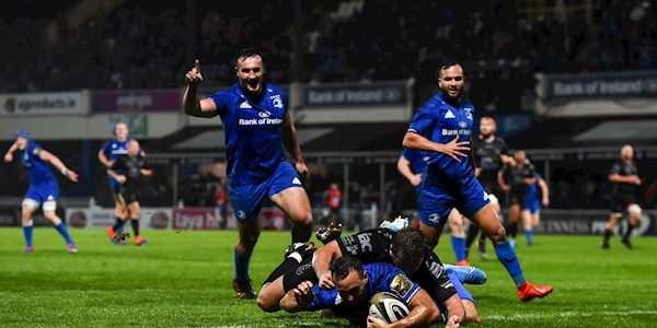 Leinster rack up 50 points against Dragons to maintain perfect PRO14 start