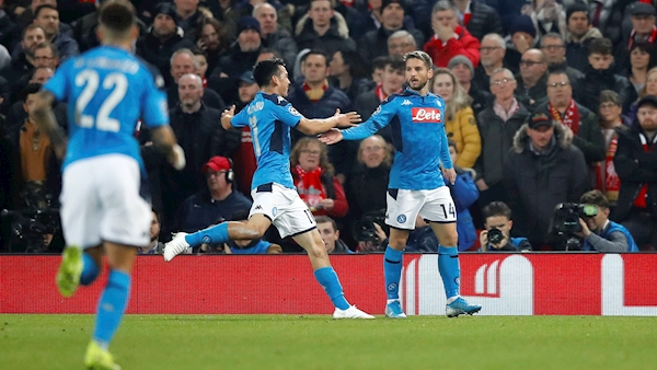 Liverpool left frustrated in quest to progress by Napoli
