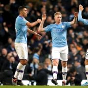 De Bruyne and Mahrez on target as Manchester City strike back for Chelsea win