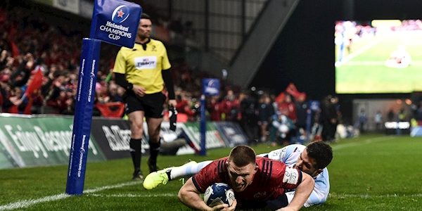 Game in 60 seconds: Here's how Conway try salvaged a draw for Munster against Racing 92
