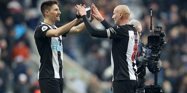 Man City suffer a further title blow as Jonjo Shelvey earns Newcastle a draw