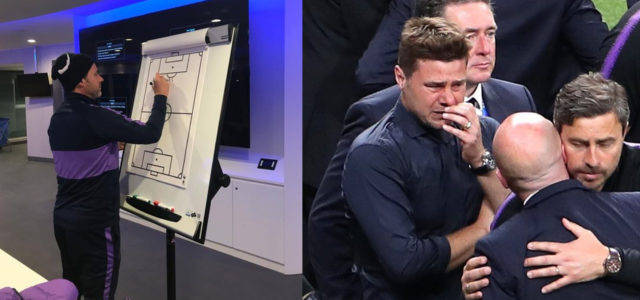 Pochettino Left An Amazing Message For Spurs Players As He Was Unable To Say Goodbye