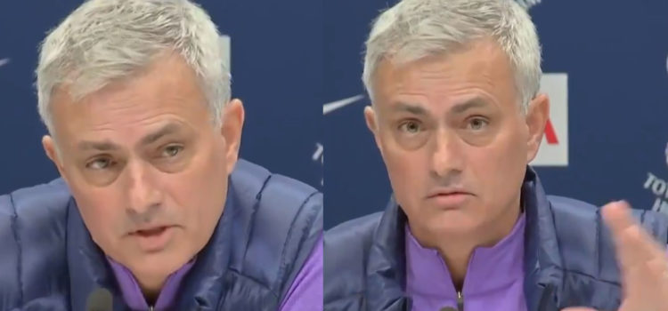 """WATCH: """"If We Win Titles, It Will Not Be Because Of Me"""" – Jose's Humble Response To Title Hope Questions"""