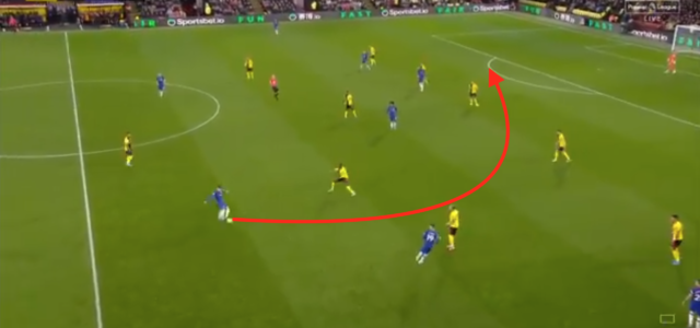 WATCH: Jorginho produces out of this world pass to set up Tammy Abraham