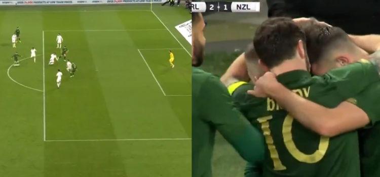 WATCH: Sean Maguire Scores Rocket Against New Zealand