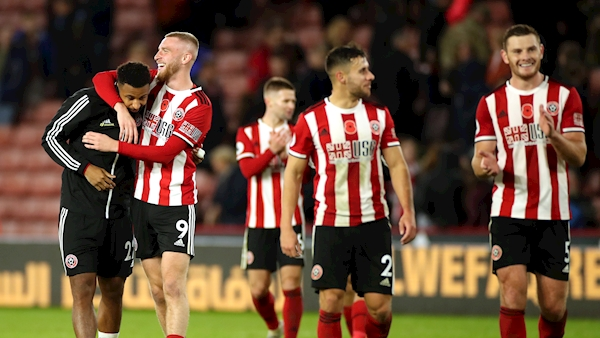 Sheffield United break into top six with Burnley win