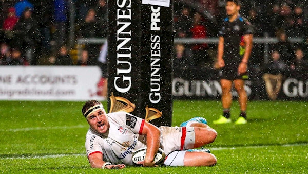Ulster up to second after seeing off Zebre