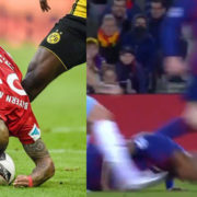 WATCH: Vidal Channelled Inner Phil Jones To Head The Ball On The Ground
