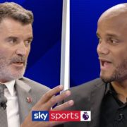 Roy Keane & Vincent Kompany disagree on whether the Premier League title race is over