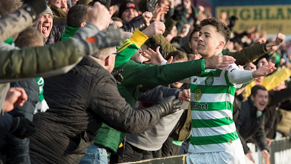 Christie at the double as Celtic rout Ross County