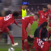 Coman Suffers Freak Knee Injury While Running Completely Unmarked