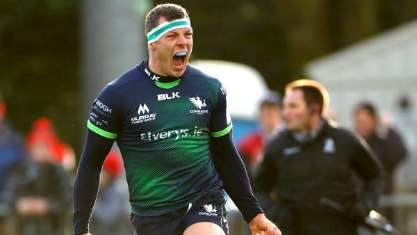 Late Robin Copeland try caps Connacht comeback win over Gloucester