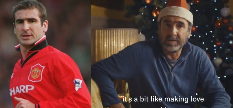 WATCH: Cantona Compares Manchester United To An 'Old Man Making Love'
