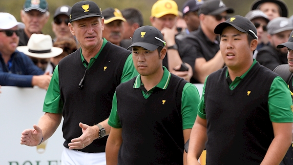International team still have the edge in Presidents Cup