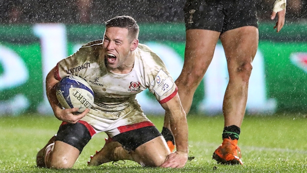 John Cooney torments Harlequins again as Ulster ease to victory