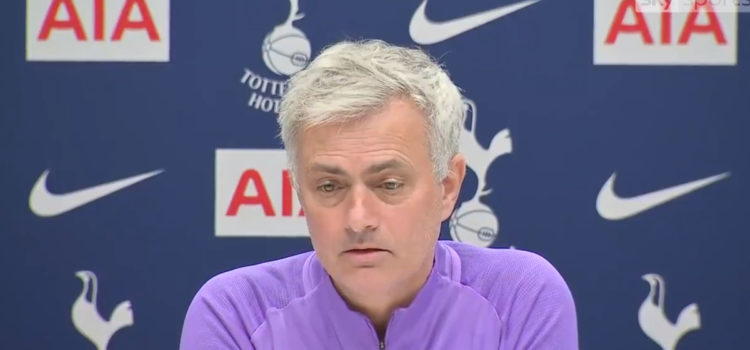 "WATCH: ""They killed the game with the Son decision. I hope Son is not punished."" – Mourinho On Yesterday's Game"