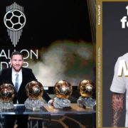 Messi Wins As Full Ballon d'Or Rankings Have Been Released