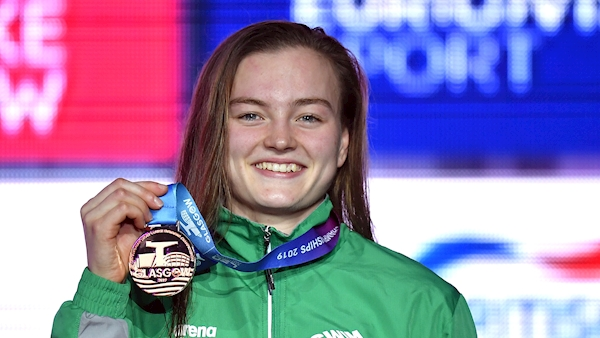 19-year-old McSharry wins bronze and sets new Irish record at European Championships