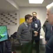 WATCH: Jose Mourinho Watches De Gea's Howler Live
